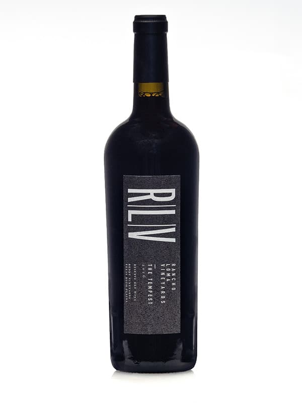 2016 RLV The Tempest RESERVE RED WINE
